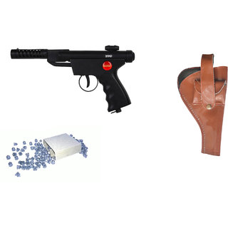 Prijam Air Gun Btm-007 Metal Body 300 Pellets Cover  Air Gun Combo Offer