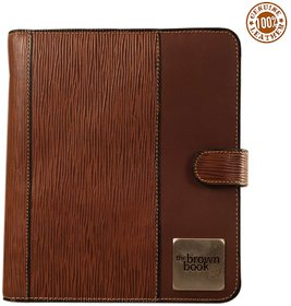 the brown book-MA-v1 Brown desktop size planner / organiser.