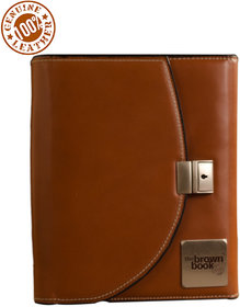 World class leather planner the brown book - MU Series