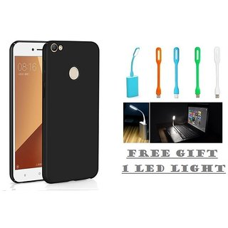 Hard Back Cover For Oppo F5 With Free LED Light