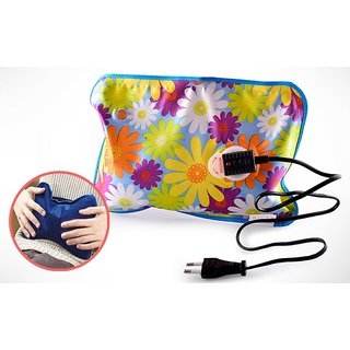 Winter Special Electric Heat Bag Hot Gel Bottle Pouch Massager For Aches Reliever ( Assorted Colors )