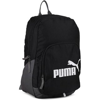 Puma Black Phase Backpack  Buy Puma Black Phase Backpack Online at ... fe1e718bfa55f