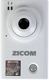 Zicom Indoor IP Cube Camera with 2 way Audio Function