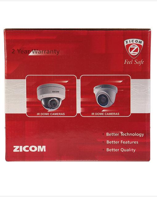 Zicom Outdoor 1 MP IP Bullet Camera 30 Metre View Range 3 6 MM Lens