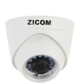 Zicom Indoor 1 Mega Pixel IP Dome Camera 30 Metre View Range 6 MM Lens