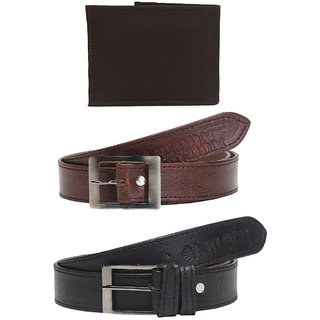 Abloom Stylish Belt  wallet combo