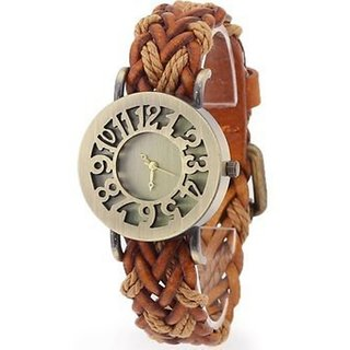 i DIVA'S  fast selling Womens watches ladies watches girls watches hallow brown dial watch