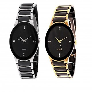 i DIVAS   FEM IIK Collection IIK Collections Model Designer Couple RV012 Analog Watch - For Couple Men Women Boys Girls by miss