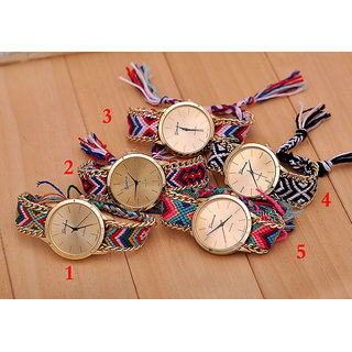 geneva watches collection (pack of 5 pc)