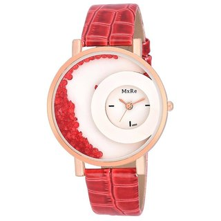 mxre red color watch for woman By Prushti Fashion