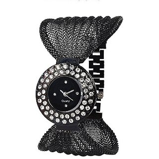 New Brand Black Deal Analog Watch For Girls Women BY SANGHO