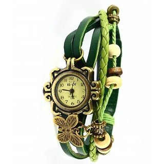 M K Trading Green Dori Analoge Watch for girl by KK
