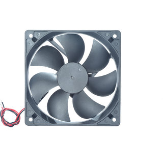 MAA-KU DC Axial Case Cooling Fan. SIZE 4.72 inches (12x12x2.5cm) (120x120x25mm) SUPPLY VOLTAGE 12VDC.