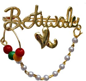 Lucky Jewellery Trendy Betiwale Gold Plated Wedding Brouch/Brooch Pin Pack Of 1 For Men  Women