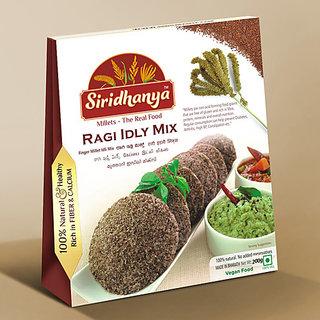 Siridhanya Ragi Idli Mix 200gms