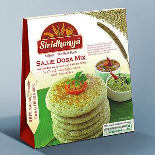 Siridhanya Sajje Dosa Mix 200gms