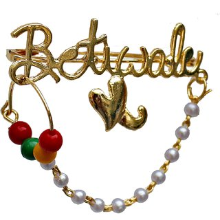 17b2462a4e31 Buy Lucky Jewellery Trendy Betiwale Gold Plated Wedding Brouch Brooch Pin  Pack Of 1 For Men Women Online - Get 76% Off