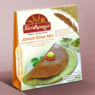 Siridhanya Jowar Dosa Mix 400gms