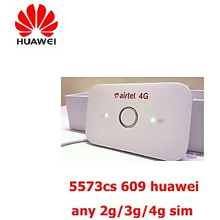 Airtel Huawei E5573cs-609 4G Wifi Data Card With Multi Sim Support