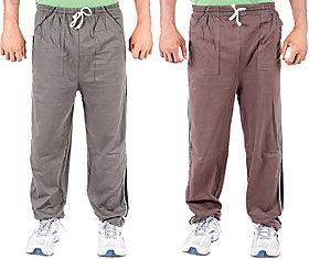 KETEX Multi Hosiery Trackpants Pack of 2