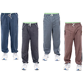 KETEX Multi Hosiery Trackpants Pack of 4