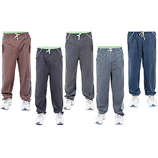KETEX Multi Hosiery Trackpants Pack of 5