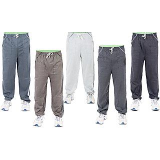 KETEX Multi Hosiery Trackpants Pack of 5