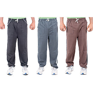 KETEX Multi Hosiery Trackpants Pack of 3