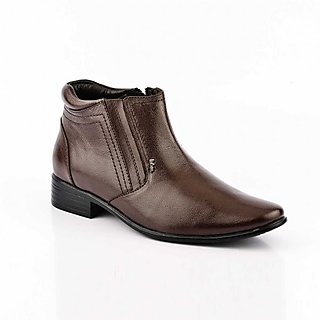 Lee Cooper Mens LC2140 Brown Leather Boots