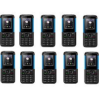 Pack Of 10, IKall K5310 (Dual Sim, 1.8 Inch Display, 80
