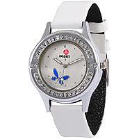 MEIA White Diamond Analog Watch For Girls  Women