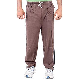 KETEX Brown Hosiery Trackpants Single