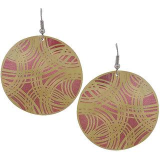 578a6d250 Buy Maayra Party Earrings Alloy Dangler Drop Maroon Designer Jewellery  Online - Get 28% Off