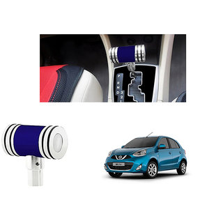 Momo M2 Hammer Style Sporty Gear Shift Knob Blue for Nissan Micra