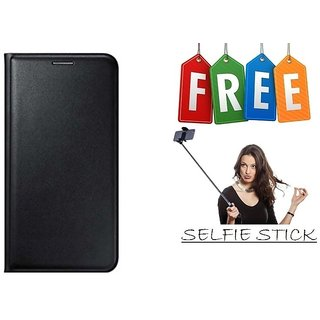 Flip Cover Case For Gionee X1s With Free Selfie Stick