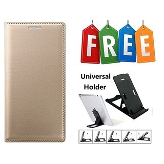 Flip Cover Case For Gionee S6 Pro With Free Adjustable Mobile Stand