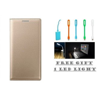Gionee X1s Flip Cover Case With Free LED Light