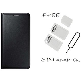 Flip Cover Case For Gionee X1s With Free Sim Adapter