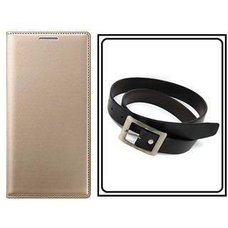 Flip Cover Case For Samsung Z4 With Free Men's Belt Worth Rs 199/