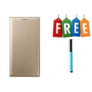Flip Cover Case For Samsung Galaxy J2(2016) With Free Stylus