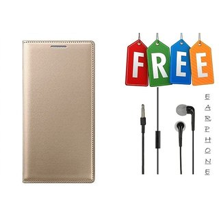Flip Cover Case For Samsung Galaxy J2(2016) With Free Earphone