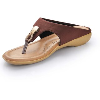 2c890bb867d079 Buy Footsoul Brown Slippers for Women s Online - Get 68% Off