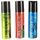Reuben Pack Of 3 Deodorants For Men - 150 ML