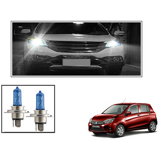 Autonity Philips H4 5000k Car Diamond Vision Headlight Bulbs Set Of 2  For Maruti Celerio