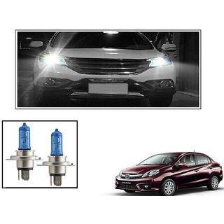 Autonity Philips H4 5000k Car Diamond Vision Headlight Bulbs Set Of 2  For Honda Amaze