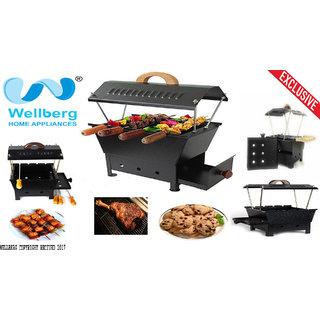 wellberg premium barbecue grill