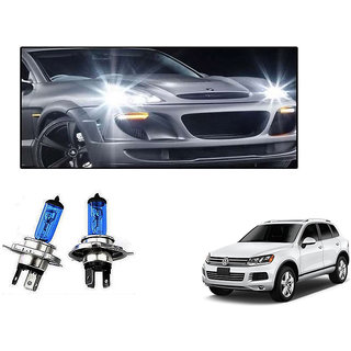 Autonity Philips H4 100/90W Car Essential Vision Headlight Bulbs Set OF 2 For Volkswagen Touareg