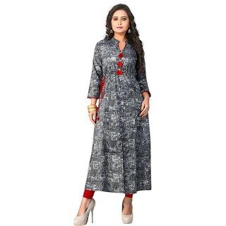 Buy Kurtis For Women Latest Low Price Designer Party Wear Gray