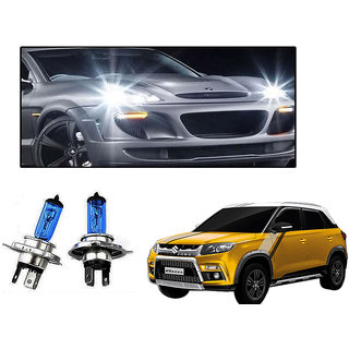 Autonity Philips H4 100/90W Car Essential Vision Headlight Bulbs Set OF 2 For Maruti Suzuki Vitara Brezza