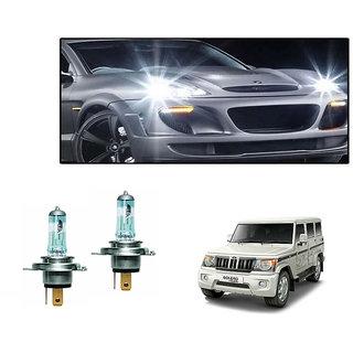 Autonity Osram H4 6000K Car Night Breaker Unlimited Headlight Bulbs For Mahindra Bolero type 3